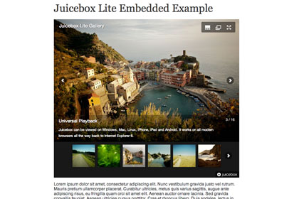 juicebox the ultimate html5 image gallery